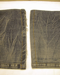 Original Denim Jean Alteration Finish