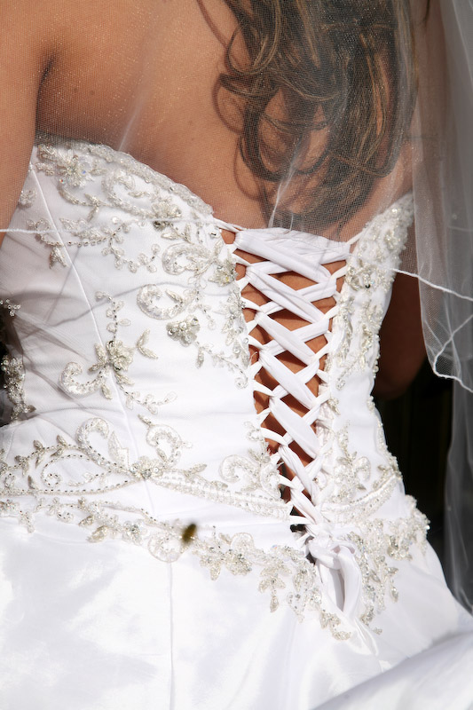 bridal wear alterations picture example
